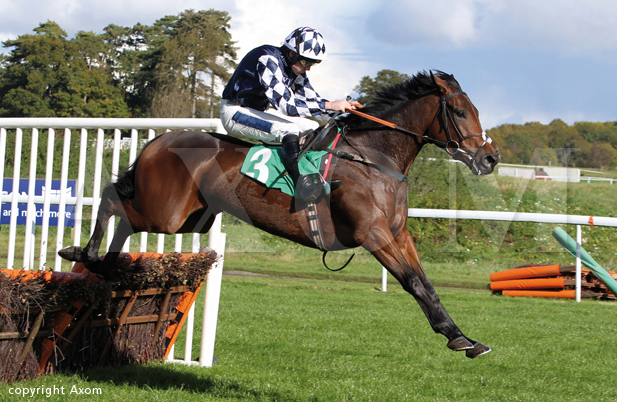 Far West winning at Chepstow  - 13 October 2012