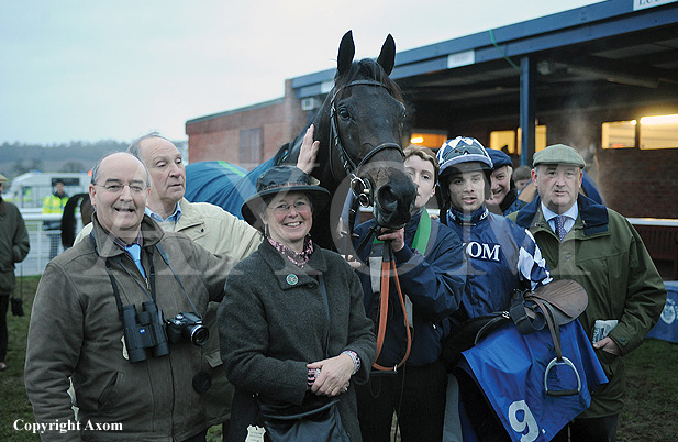 Owners with King Of Leon at Ludlow